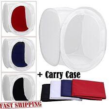 "16"" Photo Studio Shooting Tent Light Cube Box SoftBox 4 Backdrops Carry Case Kit"