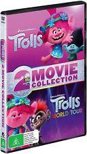 Trolls / Trolls World Tour 2 Movie Collection DVD Region 4