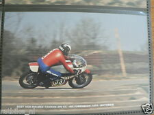 S0414-PHOTO-BOET VAN DULMEN YAMAHA 250 CC HILVARENBEEK 1974 NO 33 CYCLORAMA
