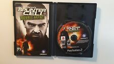 Splinter Cell Double Agent PS2 Playstation 2 Game Complete CIB