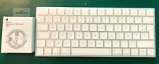 Clavier Apple Magic Keyboard sans Fil - Blanc (AZERTY) neuf sous blister + cable