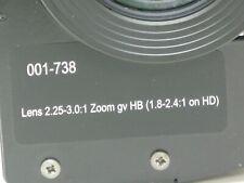 Digital Projection Lens (001-738) For Titan HD-250-HD-500-HD-600-XG-500 Mercury