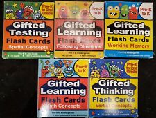 TestingMom.com Gifted Learning Flash Cards Bundle pre-k to 2nd grade