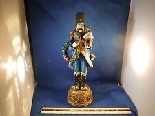 Roman Inc. Galleria Lucchese Russian Santa W/Birds Trinket Figurine
