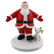 The Snowman Father Christmas and Snowdog Resin Figurine Briggs SM127 15cm
