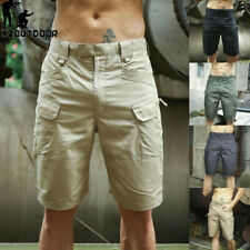 Military Tactical Men's Cargo Shorts Summer Army Outdoor Breathable Casual Pants