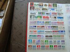 ROYAUME-UNI - 61 timbres obliteres (tout etat) stamp united kingdom