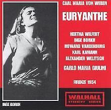 Euryanthe: Wilfert-Borkh-Kamann Florenz von Borkh | CD | Zustand sehr gut