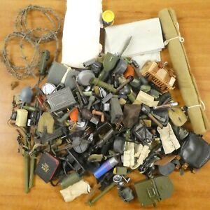 "Huge Lot of Vintage GI JOE Accessories For 12"" Action Figures"
