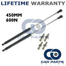 2X Muelles de gas puntales Universal Kit de coche o de conversión 450 mm 45 cm 600N & 4 Pines