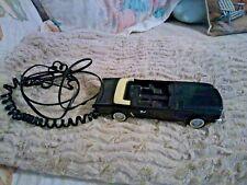 Vintage Black Convertible Telephone By Kash 'N Gold