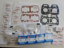 RG500 GAMMA   top end rebuild set genuine gasket bearing  &1mm os  tkrj Piston
