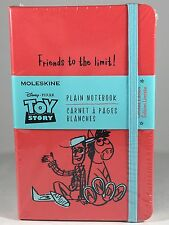 moleskine sketchbook Red Toy Story Plain Not Ruled With Pocket
