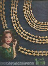 60's Trifari 'Electra Collection' Jewellery Ad  1962