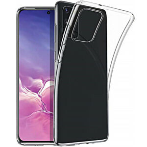Cover for Samsung Galaxy S20 /Plus/ Ultra Silicone TPU Clear Dual Layer