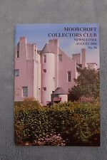 Moorcroft Collector's Club Newsletter, No.56, August 2008
