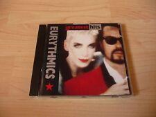 CD Eurythmics - Greatest Hits - 1991 - 18 Songs