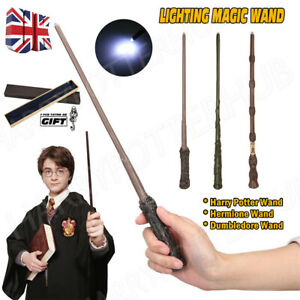 Boxed Harry Potter Dumbledore Hermione Magic LED Light Wand Collection Cosplay