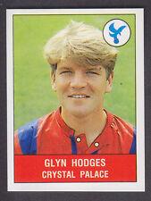 Panini Fútbol 91 - # 90 Glyn Hodges-Crystal Palace