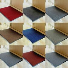 LARGE SMALL KITCHEN HEAVY DUTY BARRIER MAT NON SLIP RUBBER BACK DOOR HALL RUGS