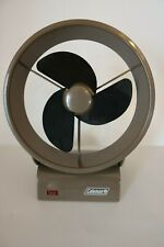 Coleman Battery Operated Fan 8 inch Brown