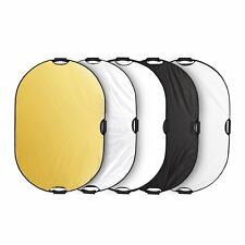 """32×48"""" 5in1 Light Mulit Collapsible Portable Reflector Photo Oval Panel"""