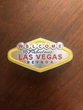 Welcome To Fabulous Las Vegas Nevada Sign Metal Unisex Men's Belt Buckle