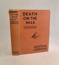 Death On The Nile-Agatha Christie-TRUE First U.S. Edition/1st Printing-1938-RARE