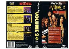 Metal Music & Concerts VHS Tapes