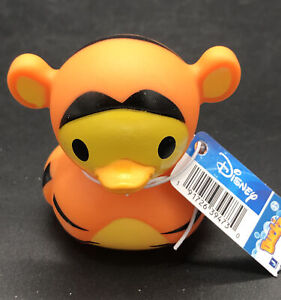 Disney Duckz Rubber Duck Tigger From Winnie The Pooh - New With Tag