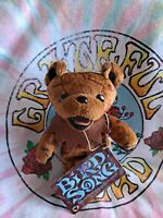 Grateful Dead Beanie Bird Song Dancing Bear - 7/1/92 Buckeye Lake Music Center