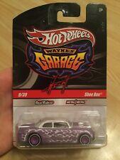 Hot Wheels Wayne's Garage Shoe Box 9/39 Unopened Package Autographed