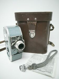 Lovely Vintage Bauer 88c 8mm Clockwork Film Camera 1940 Made In Germany Working