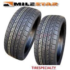 2 New 205/55R16 Milestar MS932 Sport Tires 91V SL 2055516  205 55 16