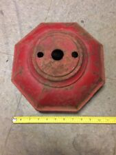 Antique Cast Iron Hydrant Part, Bonnet/Dome Made By Ludlow Troy NY