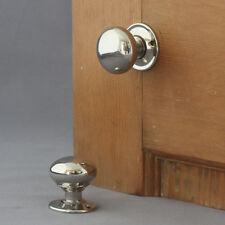 Small Georgian Nickel Cottage Door Knobs