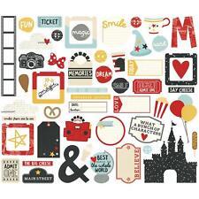 Simple Stories ~ SAY CHEESE III ~ Bits & Pieces ~ Ephemera ~ Disney