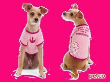 New listing Petco Star War Princess Leia Dog Tee T Shirt Pink Stormtrooper Large Pet Fans L