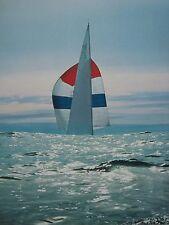 SAILBOAT YACHT NEFERTITI AMERICA S CUP TRIALS LIFE 1962 PHOTO 8X10 SMALL POSTER