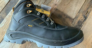 Panther Hard & Light Toe Cap Work Safety Boots Black Size UK 11 EU 46
