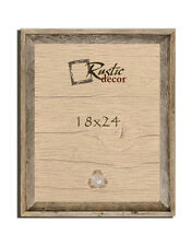 """18x24 - 2"""" Wide Signature Reclaimed Rustic Barn Wood Wall Frame"""