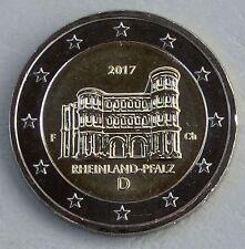 2 euros Alemania f 2017 Rheinland-Pfalz/porta Nigra unz.