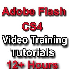 Adobe Flash CS4 Video Training tutorials CBT - 12+ Hours
