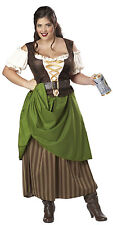 Womens 2X (18-20) Plus Size Tavern Maiden Costume - Medieval and Renaissance Cos