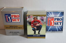 PGA TOUR Trading Cards by PRO-SET from 1990 Includes Box & extras ARNOLD PALMER