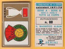 ADESIVO CALCIATORI PANINI 1971/72 - NUOVO/NEW  - N°88 U.R.S.S.