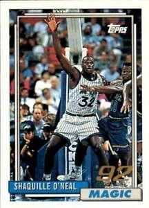 1996-97 Topps Stars #32 SHAQUILLE O'NEAL Reprint #362 1983 Topps  Orlando Magic