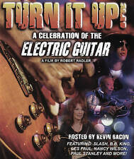 Turn It Up A Celebration of the Electric Guitar (Blu-ray Disc, 2-Disc Set)