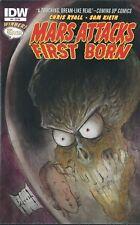 MARS ATTACKS FIRST BORN #4 (2014)  SAM KIETH IDW COMICS V/F+