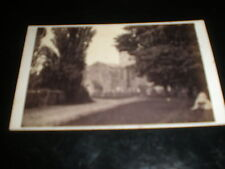Cdv old photograph Britford Church near Salisbury c1870s